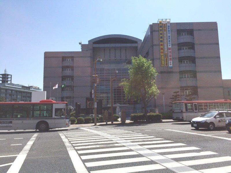 新潟市役所まで約720m